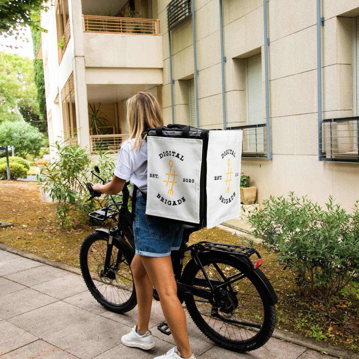 Innovation - Livreurs à vélo - Cyclads